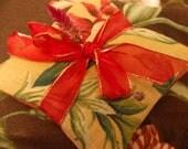 Linen Floral Lavender & Roses Sachet