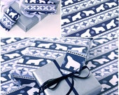 Polar Bear Wrapping Paper - 5 SHEETS