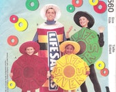 Lifesaver Candy Costume McCallls 9560 UNCUT Sewing Pattern Kids Halloween Costume
