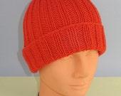 Instant Digital PDF File Knitting Pattern Only- Baby 2 x 2 All Rib Beanie hat pdf download knitting pattern
