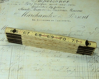 Folding Wood Ruler