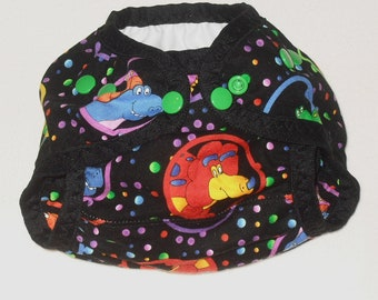 Dinosaur friends PUL Diaper Cover