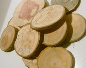 20 Slices Reclaimed Wood  Wholesale lot 3 to 4 inch  Assorted