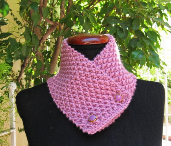 Knitting Patterns Ladies Scarf : Knitting pattern neckwarmer cowl men women scarf by lanadearg