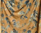 ZEN GARDEN Upholstery Yardage -  Brunschwig et Fils Cotton Chenille Fabric- 2 yds left
