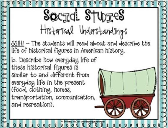 Science & Social Studies Standards for 1st Grade: GEORGIA (stripes)