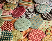 100 Pocket Mirrors 2 1/4 inch - Wedding Bridal Shower Favors - Vintage Collection