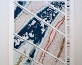 1896 Geologic Atlas Print - Structure Sections