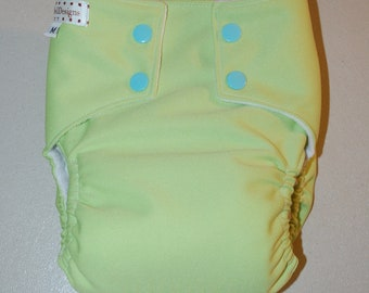 LuluBellDesigns All in One AIO Cloth Diaper Medium 18-28 lbs SOLIDS