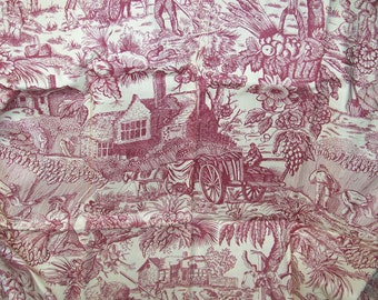 """Home on the Range Monoton Fabric  100% Cotton 45"""" Wide 31"""" Long"""