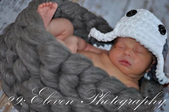 Newborn Braided Wool Bowl- CHOOSE YOUR COLOR  ---Ready To Ship---