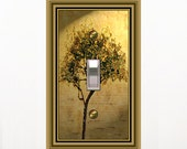 0524x - Tree in the Afternoon - Mrs Butler Switchplates  (choose size/price from dropdown)