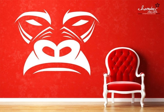 Gorilla Wall Decal