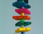 Cricket's Crumbles Small Bird Toy Wood Bird Toy