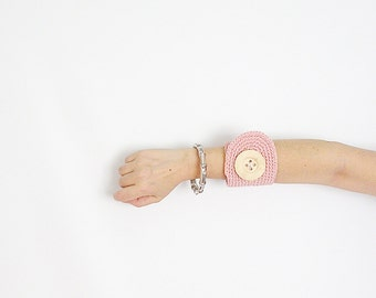 Dusty Pink Wrist Cuff