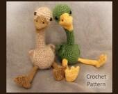 Baby Duckling PDF Crochet Pattern