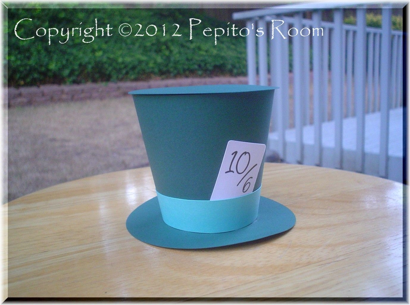 Displaying 17> Images For - Printable Top Hat Pattern...