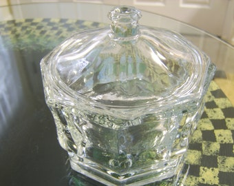 1950s Antique Candy Bowl with Lid