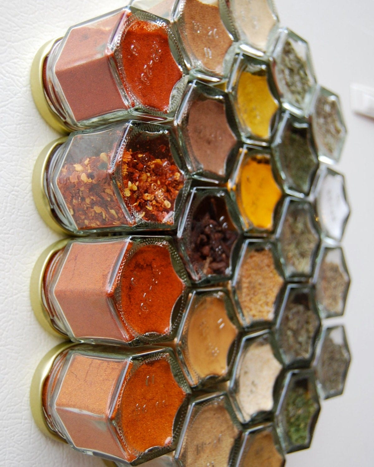 SALE 15% Off FIY HEX 24: Fill It Yourself Magnetic Spice Rack