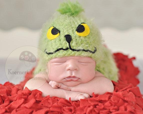 RTS Mr. Grinch  newborn/baby photography prop