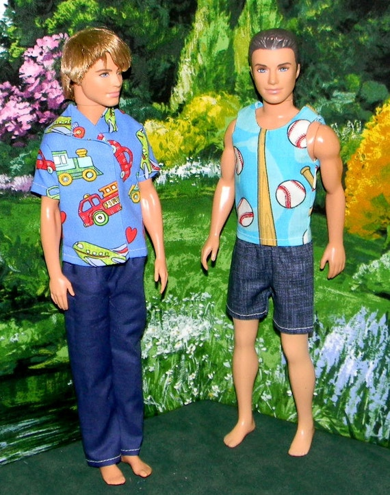 KEN doll clothes 2 outfits (KD-69)