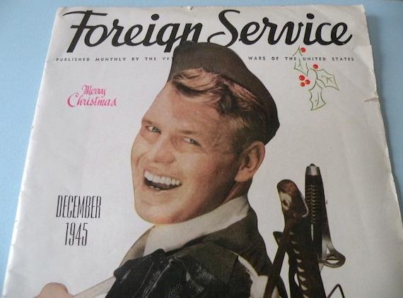 Christmas 1945 Foreign Service Magazine