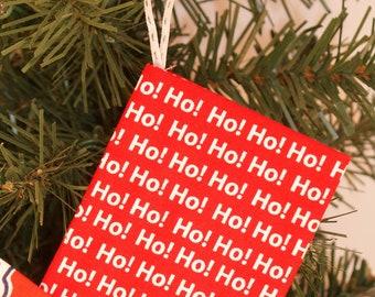 Ho Ho Ho Gift Card Holder Ornament (GCO131)