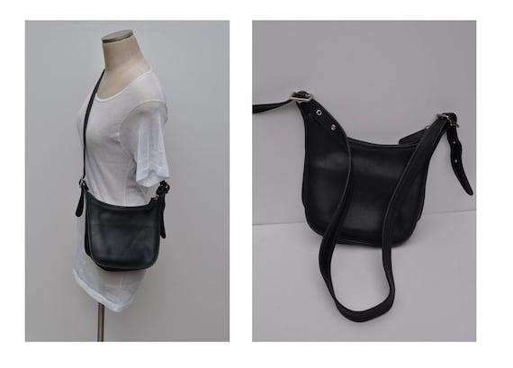 vintage COACH leather bag purse cross body shoulder bag authentic