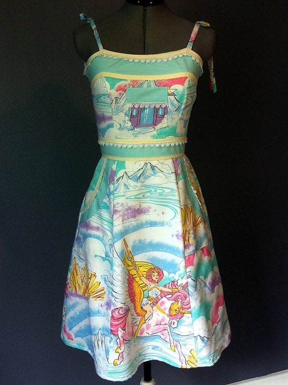 She Ra Princess of Power Dress- OOAK