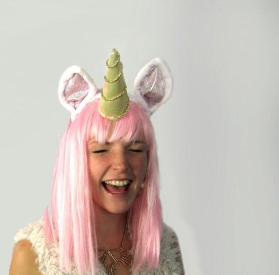 Unicorn Headband - Pinwheel