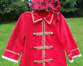 Pirate costume - coat and head wrap - boys size 5