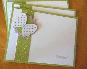 Butterfly Notecards - Set of 8