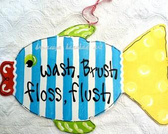 Fun Fish Bathroom Rules