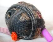 A Knitty Magic Yarn Ball - A Great Gift For A Knitter - Wool Blend - Aran Weight