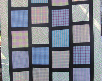 Mad About Plaid Flannel  Quilt Top