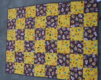 Mr. Potato Head Quilt