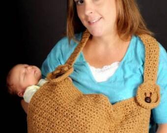 Baby Bear Nursing Cover Up Crochet Pattern pdf 368