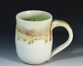 Stoneware Mug / 12 oz./  Wheel Thrown Pottery in Stoneware Clay