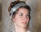 CUSTOM Regency Jane Austen Hat hairpiece Hair wrap bandeau Ball headpiece