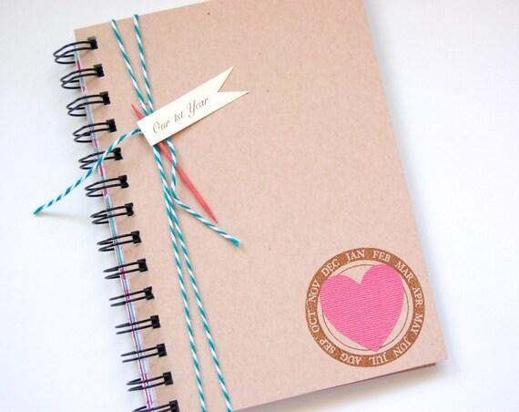 Love journal memory album paper anniversary our
