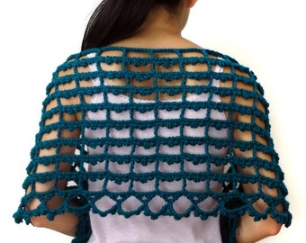 Picot Shawl - PDF Crochet Pattern - Instant Download