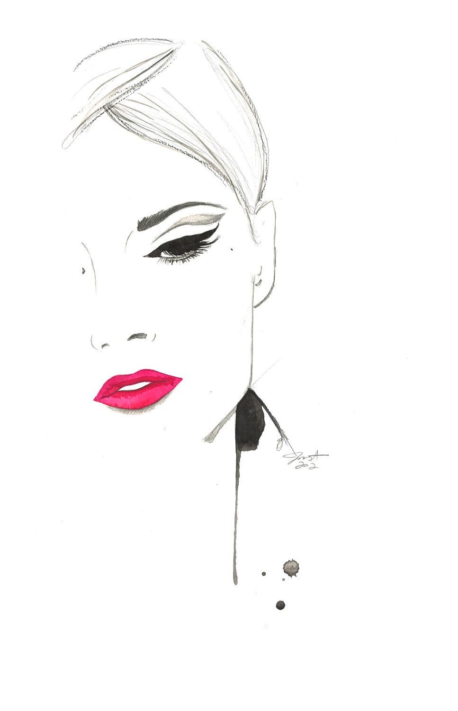 vignette on pinterest fashion illustrations fashion
