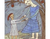 Jenny Mendes - Limited Edition Giclee - Under The Apple Tree