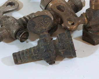 Vintage Gas Jets, Antique, Collection of Four