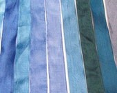 Custom listing for Maria Louise- Seam binding in 3 shade of Blues - 50 yards total