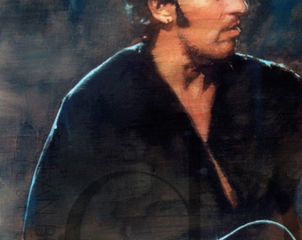 Bruce Springsteen - Limited Edition Print 8.5 x 11