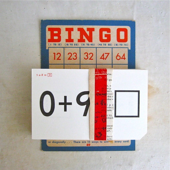 50 vintage addition flash cards, arithmetic flashcards, mathematics, math, number, back to school, milton bradley, 1965