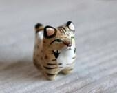 Bobcat pocket totem figurine