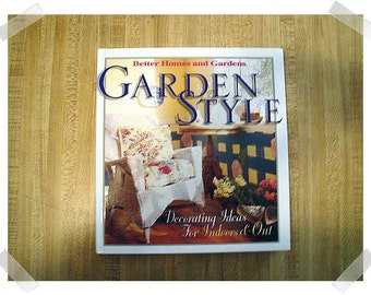 Garden Style/Hardcover Decorating Book/2001*