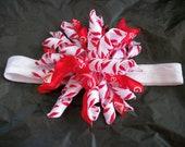 Christmas Korker Hair bow Headband